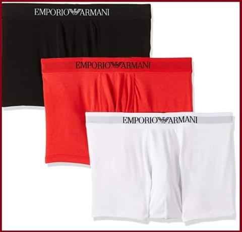 Armani Boxer Rosso
