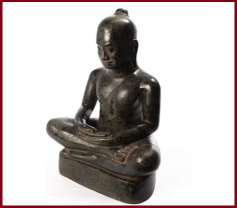 Statua In Bronzo Meditazione