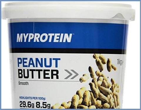 Burro Di Arachidi Myprotein Naturale