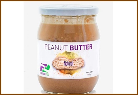 Burro di arachidi naturale senza olio di palma