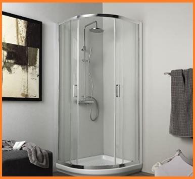 Cabina doccia completa con piatto doccia