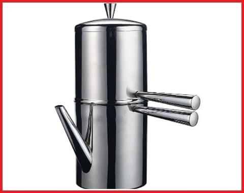 Caffettiera napoletana inox