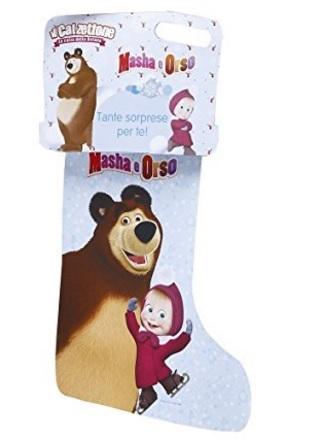 Calza masha e orso giochi preziosi originale