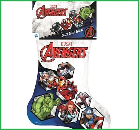 Calza Della Befana Marvel Avengers Peluche