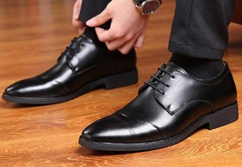 Scarpe classiche uomo nere eleganti