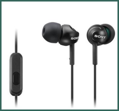 Auricolari della sony con microfono