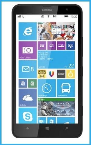 Nokia lumia 1320 smartphone nero