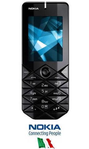 Nokia 7500 prism ufficiale nokia italia black
