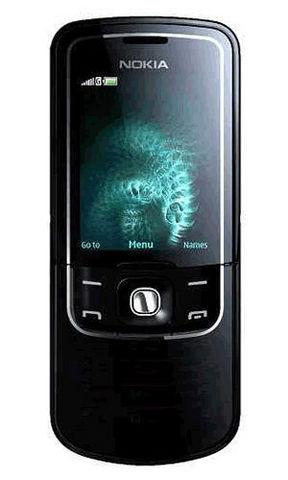 Nokia 8600 luna gprs con cover lucida in vetro nero eu