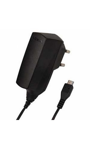 Nokia caricabatterie ac-6e microusb black