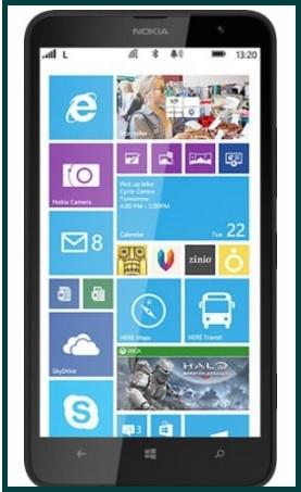 Nokia lumia 1320 8 gb nero