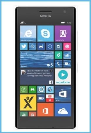 Nokia lumia 735 nero