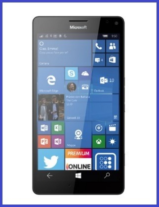 Nokia lumia 950 xl nero