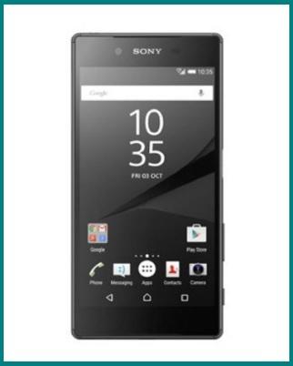 Sony xperia z5 smartphone nero