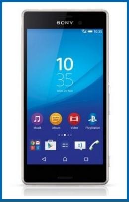 Sony xperia m4 smartphone