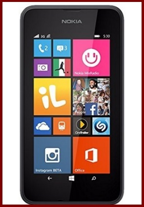 Nokia Lumia 530 Smartphone