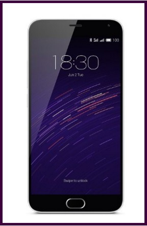 Meizu m2 note smartphone