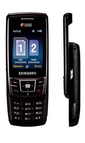 Samsung sgh d880 dual sim black eu