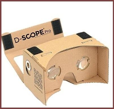 Cardboard app giochi virtuali