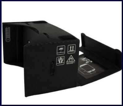 Cardboard visore realtà virtuale