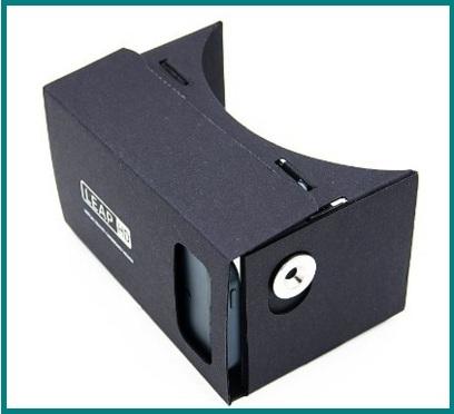 Cardboard economico cartone 3d vr