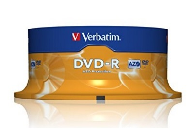 Dvd-r Advanced 16x Speed Confezione Da 25