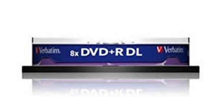 Dvd Verbatim Double Layer 8,5 Gb Argento