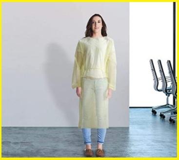 Camici tessuto non tessuto monouso