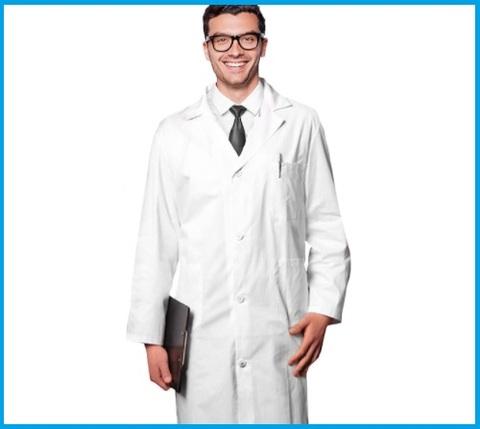 Camici da farmacista cotone