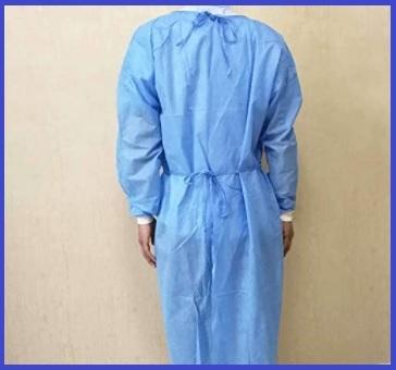 Cura Farma Camice Bianco Donna Uomo per Medico Farmacista da Lavoro Laboratorio in Cotone Originale