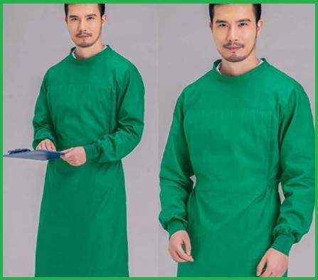 Camice Lavabile Verde