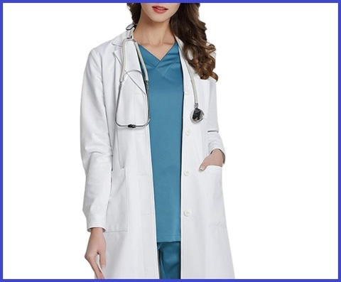 Camice Medico Donna Cotone