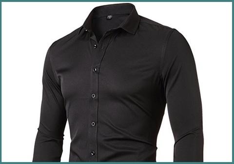 Camicia slim fit elegante uomo