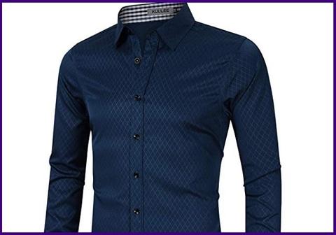 Camicia slim fit elegante blu