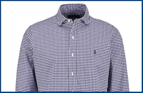 Camicia Slim Fit Ralph Lauren Quadretti