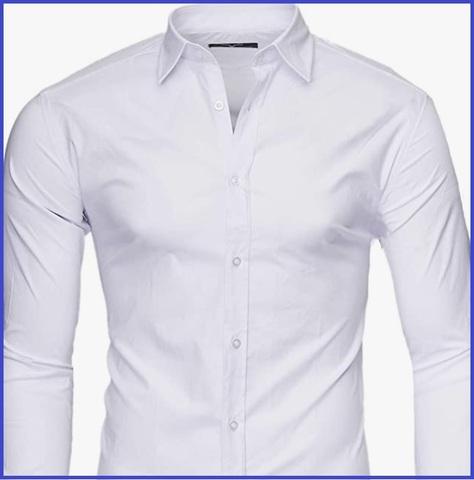 Camicia uomo slim fit elegante