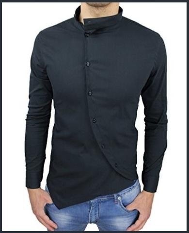 Camicia coreana slim fit