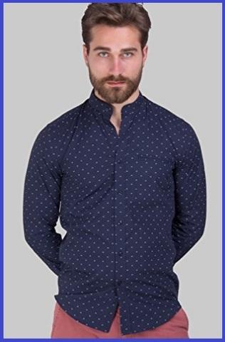 Camicia Coreana Microfantasia