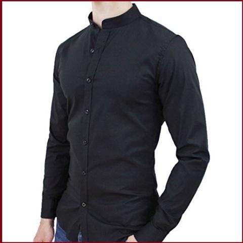 Collo Coreana Camicia Slim Fit