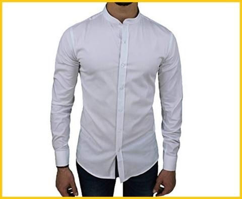 Camicia Coreana Uomo Elegante