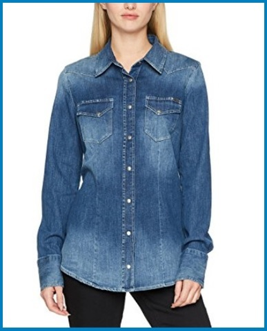 Camicie Jeans Donna Gas
