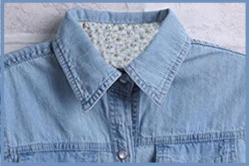Camicia Lunga Donna Jeans