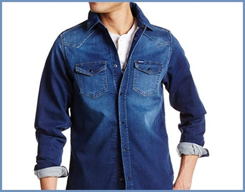 Camicie jeans uomo diesel