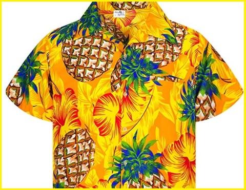 Camicia Hawaiana Gialla