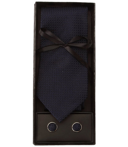 Cravatta uomo colore scuro elegante per cerimonia
