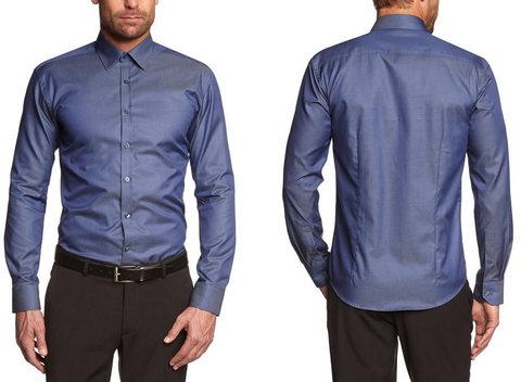 Camicia Classica Elegante Per Uomo A Manica Lunga