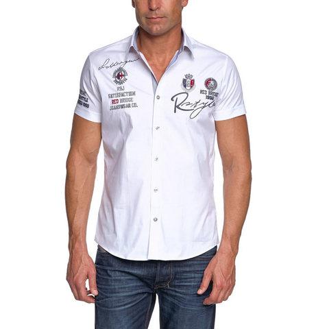Camicia da uomo materiale e fabbricazione di alta qualità