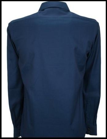 Camicia Uomo Manica Lunga Classica E Scura