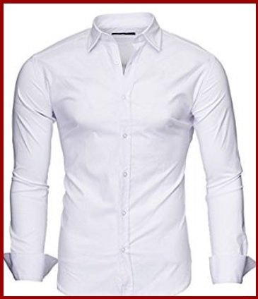 Camicie Uomo Classiche Bianche
