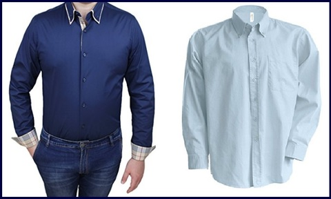 Camicie uomo classiche 5xl